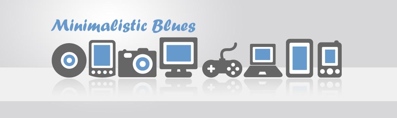 Minimalistic blues>